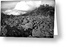Costa Rican Volcanic Rock  Greeting Card