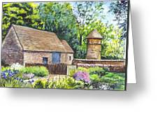 Cotswold Barn Greeting Card