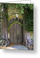 Cotswold Doorway Greeting Card