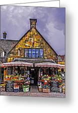 Cotswold Street Market Greeting Card