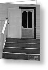 Cottage 5 Stair Steps Home Greeting Card