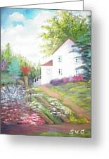 Cottage Gardens Greeting Card