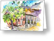Cottage In Barca De Alva Greeting Card