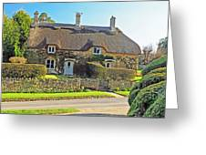 Cottage Of The Cotswolds Greeting Card