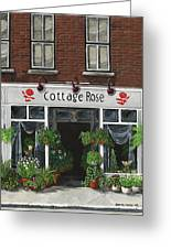 Cottage Rose Greeting Card