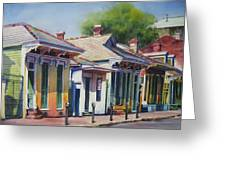 Cottage Row Greeting Card