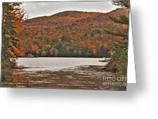 Cottages On Greenwood Lake Greeting Card