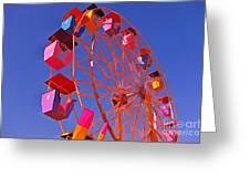Cotton Candy Ferris Wheel Greeting Card