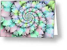 Cotton Candy I Greeting Card