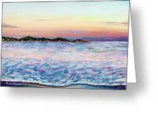 Cotton Candy Waters Greeting Card