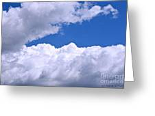 Cotton Clouds Greeting Card