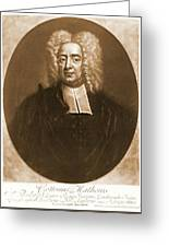 Cotton Mather 1728 Greeting Card