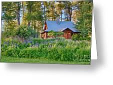 Cottonwood Cottage Spring 2014 Photographs Taken By Omaste Witko Greeting Card