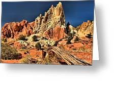 Cottonwood Narrows Side Show Greeting Card