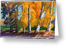 Cottonwoods Greeting Card