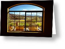 Cougar Winery View Greeting Card