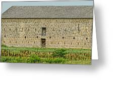 Council Grove Kansas Stone Barn Greeting Card