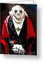 Count Dracula Greeting Card