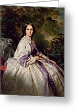Countess Alexander Nikolaevitch Lamsdorff. Maria Ivanovna Beck Greeting Card