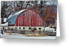 Country Barn 3 Greeting Card