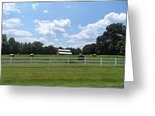 Country Barn And Hay Greeting Card