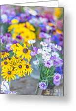 Country Blooms Greeting Card
