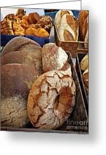 Country Bread And Muffins Greeting Card
