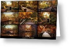 Country Bridges Greeting Card