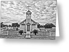 Country Chapel Greeting Card