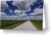 Country Clouds Greeting Card