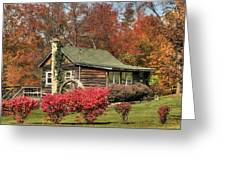 Country Cottage II Greeting Card