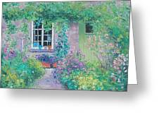 Country Cottage Greeting Card