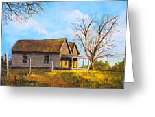 Country Duplex Greeting Card