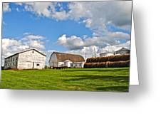 Country Farm Greeting Card by Frozen in Time Fine Art Photography
