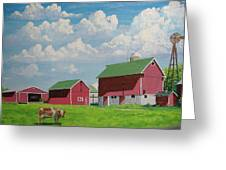 Country Home Greeting Card