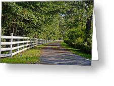 Country Lane Greeting Card