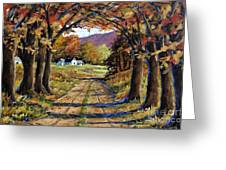 Country Livin  Greeting Card