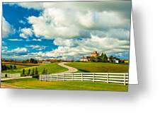 Country Living Painted Greeting Card