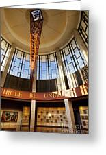 Country Music Hall Of Fame Greeting Card