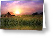 Country Paradise Greeting Card
