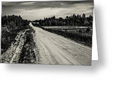 Country Road Take Me Home 1. Greeting Card