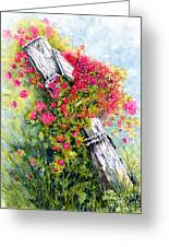 Country Rose Greeting Card