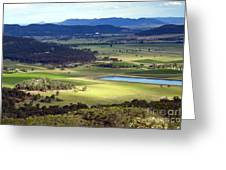 Country Scenic Greeting Card