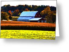 Country Side Greeting Card