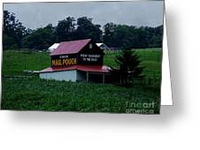Country Side Pride Greeting Card