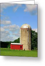 Country Silo Greeting Card