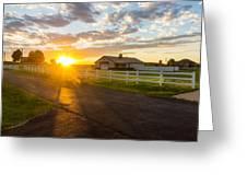 Country Skies Greeting Card