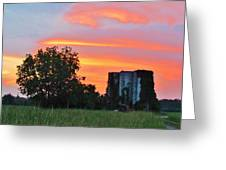 Country Sky Greeting Card