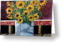 Country Still Life Greeting Card