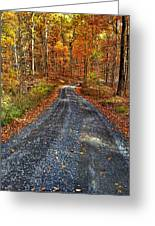 Country Super Highway Greeting Card